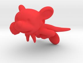Super Doggy in Red Processed Versatile Plastic