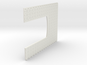 A-nori-bricks-double-door-sheet-1a in White Natural Versatile Plastic