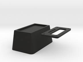 1/10 scale auto floor shifter box in Black Natural Versatile Plastic