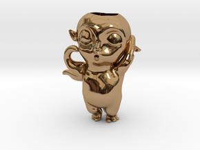Monster Hunt Planter,怪物狩猎 in Polished Brass