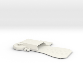 Hutt Base Platform in White Strong & Flexible