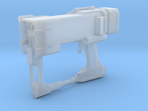 Laser Pistol (1:12 Scale) in Smooth Fine Detail Plastic
