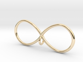 Infinity in 14K Yellow Gold