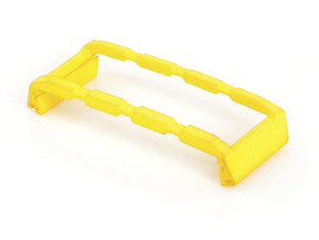 Finger Clip for Shutter Grip, iPhone 5 / 5S in Yellow Strong & Flexible Polished