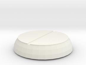 Vent Cap in White Natural Versatile Plastic