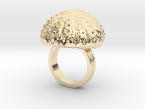 Urchin Statement Ring - US-Size 5 1/2 (16.10 mm) in 14k Gold Plated Brass