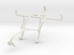 Controller mount for Xbox 360 & Oppo Joy Plus in White Natural Versatile Plastic