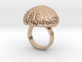 Urchin Statement Ring - US-Size 6 1/2 (16.92 mm) in 14k Rose Gold