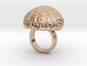 Urchin Statement Ring - US-Size 4 (14.86 mm) in 14k Rose Gold