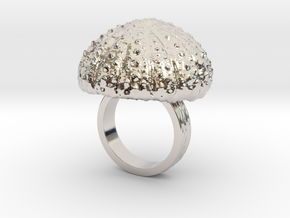 Urchin Statement Ring - US-Size 4 1/2 (15.27 mm) in Platinum