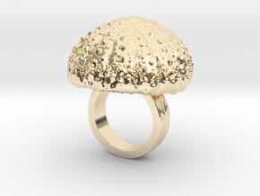 Urchin Statement Ring - US-Size 2 1/2 (13.61 mm) in 14K Yellow Gold