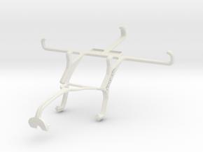 Controller mount for Xbox 360 & ZTE Nubia Z9 mini in White Natural Versatile Plastic