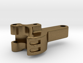 """3/4"""" scale coupler in Natural Bronze"""