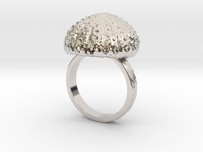 Urchin Statement Ring - US-Size 13 (22.33 mm) in Platinum