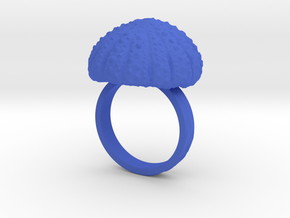 Urchin Statement Ring - US-Size 10 1/2 (20.20 mm) in Blue Processed Versatile Plastic