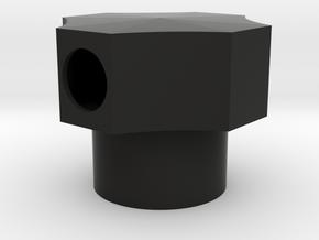 Fuel Sump Pump Filler Cap in Black Natural Versatile Plastic