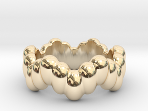 Biological Ring 19 - Italian Size 19 in 14K Yellow Gold