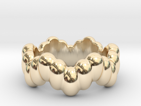 Biological Ring 32 - Italian Size 32 in 14K Yellow Gold