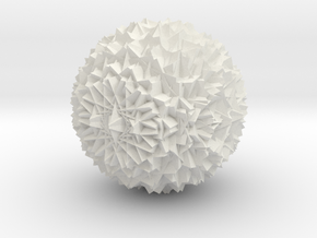 3Dubbelaar Art Ball 01 in White Natural Versatile Plastic