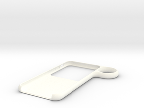 Ring case for iPhone 6 in White Processed Versatile Plastic
