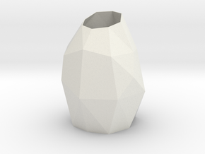 Vase (short) in White Strong & Flexible