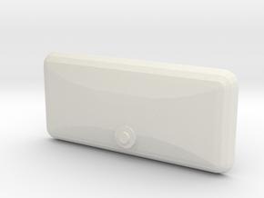 1/10 scale jeep CJ7 Glove Box Door in White Natural Versatile Plastic