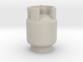 1/10 Scale LPG gas tank M3  in Natural Sandstone