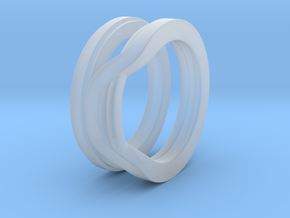 Balem's Ring1 - US-Size 2 1/2 (13.61 mm) in Smooth Fine Detail Plastic