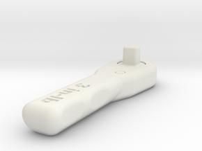 NASA Wrench in White Natural Versatile Plastic