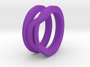 Balem's Ring1 - US-Size 9 1/2 (19.41 mm) in Purple Processed Versatile Plastic