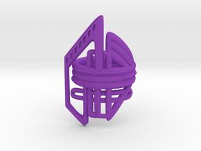 Balem's Ring2 - US-Size 5 1/2 (16.10 mm) in Purple Processed Versatile Plastic