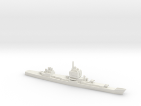 USS Long Beach, 1961, 1/1800 in White Natural Versatile Plastic