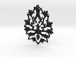 CODE: SLTS02 - PENDANT in Black Natural Versatile Plastic