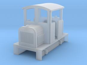 Sn2 Centercab diesel loco body in Smooth Fine Detail Plastic