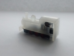 N-scale Narrow Gauge Steam Shell in Frosted Extreme Detail