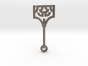 Hammer / Martillo in Polished Bronzed Silver Steel