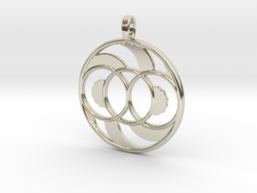 LIFE SPIRAL ONE in 14k White Gold