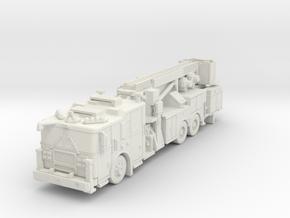 N Scale 1/160 Seagrave MII Aerialscope Marauder in White Natural Versatile Plastic