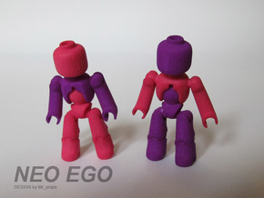 NEO EGO in White Natural Versatile Plastic