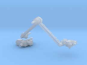 Mars Rover Robot Arm 1:10 in Frosted Extreme Detail