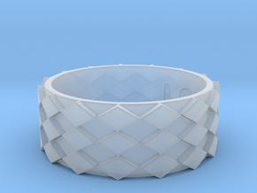 Futuristic Diamond Ring Size 14 in Smooth Fine Detail Plastic