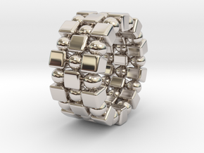 Claudette T. - Ring in Rhodium Plated Brass: 9 / 59