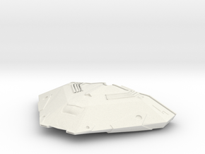 Cobra Mk III (Scale Model) in White Strong & Flexible