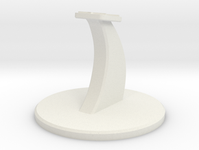 Cobra Mk III Stand in White Natural Versatile Plastic