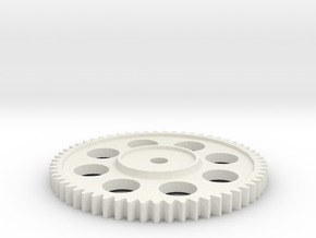 SM54 Spur Gear for Kyosho Sand Master & Nitro Trac in White Strong & Flexible