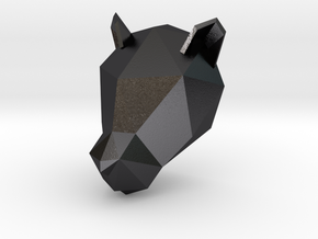 Panther in Polished and Bronzed Black Steel