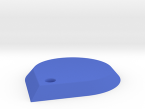 Water Drop Charm in Blue Processed Versatile Plastic