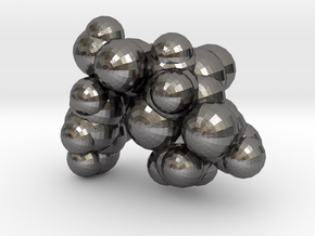 amoxicillin_space_fill in Polished Nickel Steel