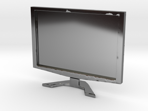 """Acer 22"""" LCD - 1:12 scale in Fine Detail Polished Silver"""