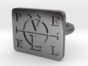Enochian Adjustable in Polished Silver